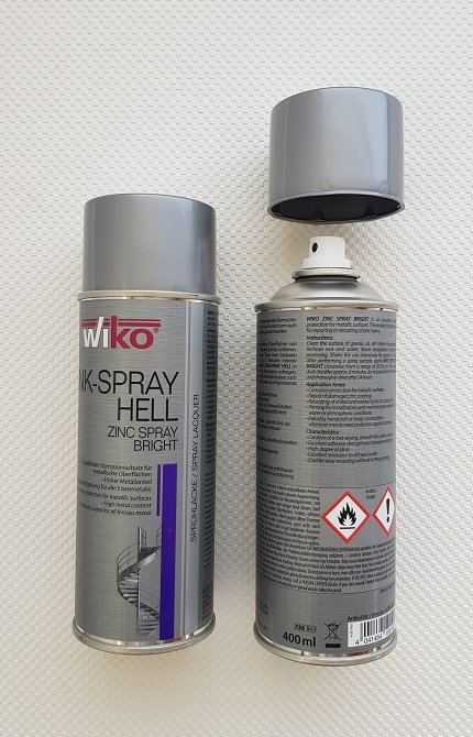 Wiko Zink-spray hell